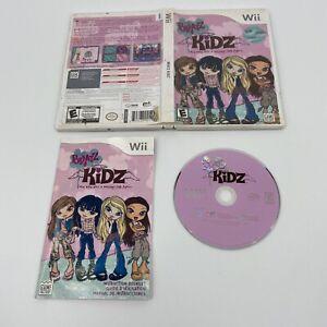 Bratz Kidz Nintendo Wii Video GameComplete With Manual 2007 Tested CIB