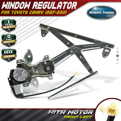 A-Premium Power Window Regulator With Motor for Toyota Camry 1997-2001 Front Left Driver Side