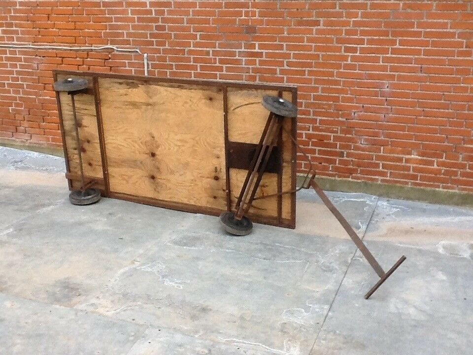 """Trækvogn """"Festivalvogn"""" - 104 x 200 cm"""