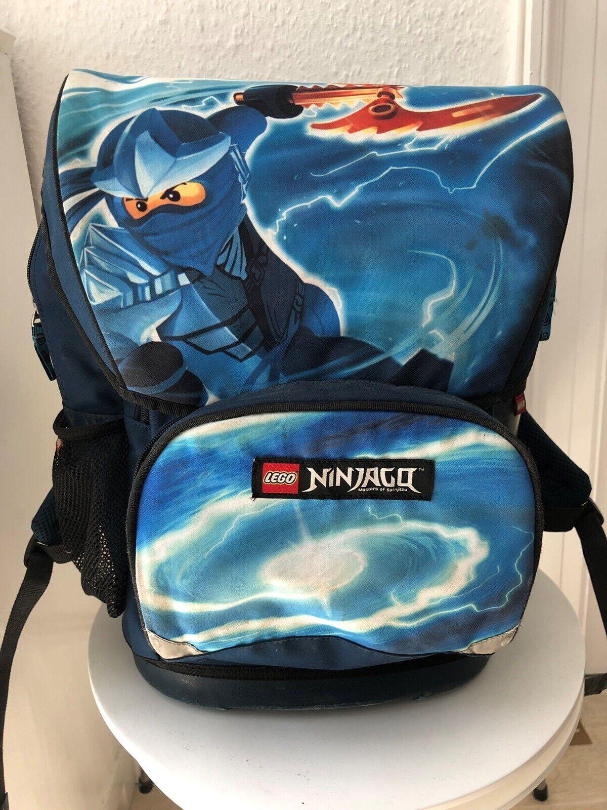 Skoletaske, LEGO , Ninjago, Fin skoletaske. Brugt i 3 år.