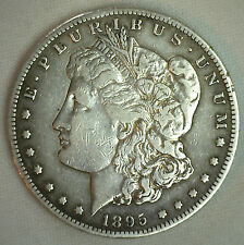 1895 S Morgan Dollar United States Coin Very Fine Silver $1 San Francisco
