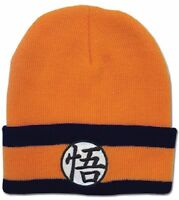 Dragon Ball Z Goku Icon Symbol Dragonball Z Officially Licensed Knit Beanie on sale