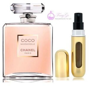 chanel coco mademoiselle eau de parfum for her 5ml. Black Bedroom Furniture Sets. Home Design Ideas