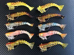 10x-3-034-Weedless-Live-Shrimp-Prawns-Lure-Bait-Jig-heads-Fishing-Jighead-Bream