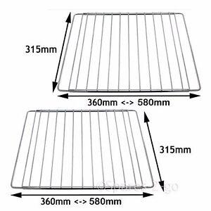 2x universal adjustable oven shelf cooker rack extendable grill rh ebay co uk  adjustable oven shelves