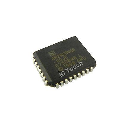 AMD AM29F040B-90JC NOR Flash 512Kx8 32-Pin PLCC New Lot Quantity-4