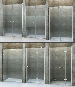 Nischentür Pendeltür Duschtür Schwenktür Duschabtrennung Dusche Duschkabine