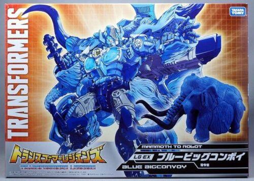 TAKARA TOMY Transformers LG-EX Blue Big Convoy Mammuthus Prime New