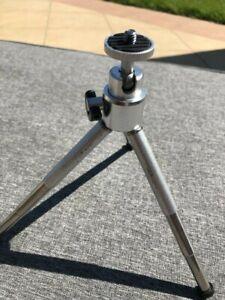 Trepied de table mini pied photo video rotule à 360 Neuf alu 3 sections