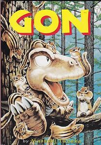 MASASHI-TANAKA-034-GON-034-BOOK-ONE-OF-FOUR-THREE-COMPLETE-GON-STORIES-1996
