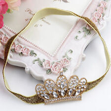 Baby Pearl Crown baby headband Princess Tiara photography props 1 piece TI