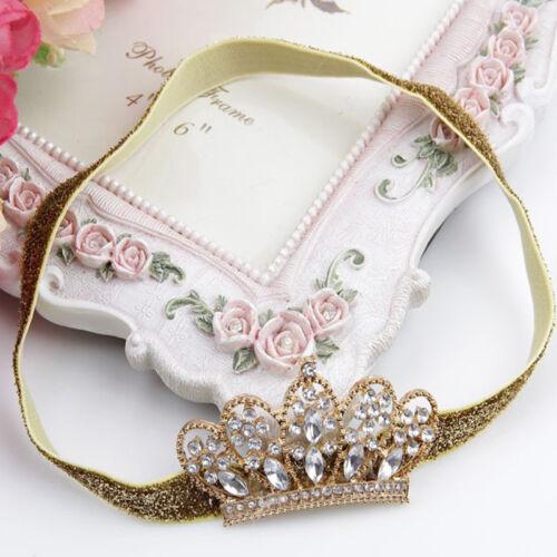 Pearl Rhinestone Crown baby headbands and girls Princess Tiara photography props