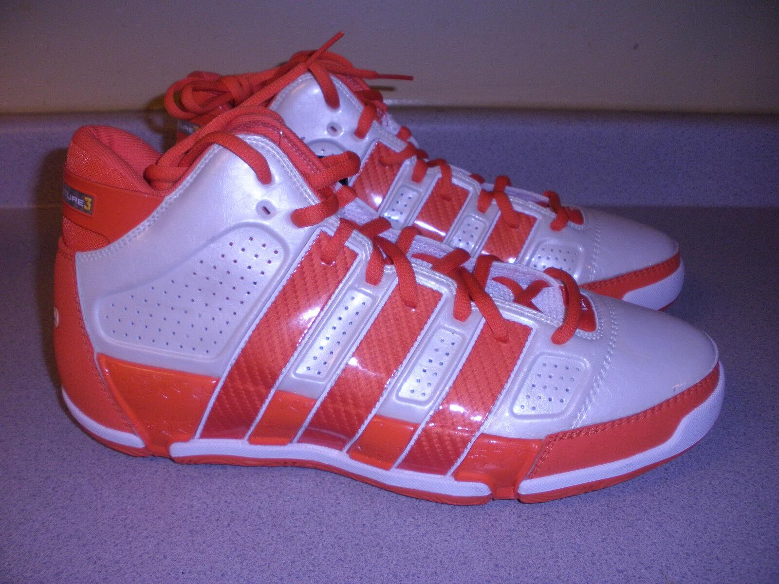 NWT Addidas CT 09 12.5 Men's Basketball Shoes US 12.5 09 ORANGE WHITE 6fe802