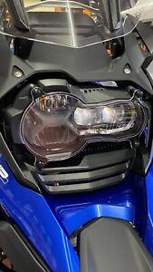 BMW-Headlight-Guard-R1250-GS-GSA-With-HP-Logo-Free-Post-UK-8-To-Outside-UK