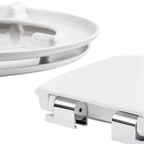 Asiento de WC taza wáter tapa para retrete cierre amortiguado inodoro
