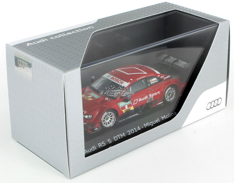 AUDI RS5 Miguel Molina DTM 2014 1:43 Audi Collection