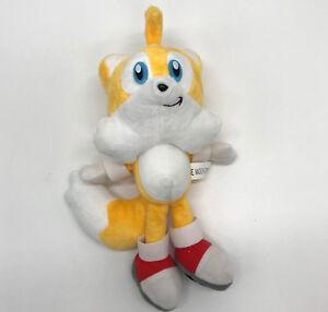 Sonic The Hedgehog Tails The Fox Plush Soft Toy Doll Teddy 10 Ebay