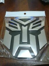 3D Logo Autobot Transformers Emblem Badge Graphics Decal Car Sticker