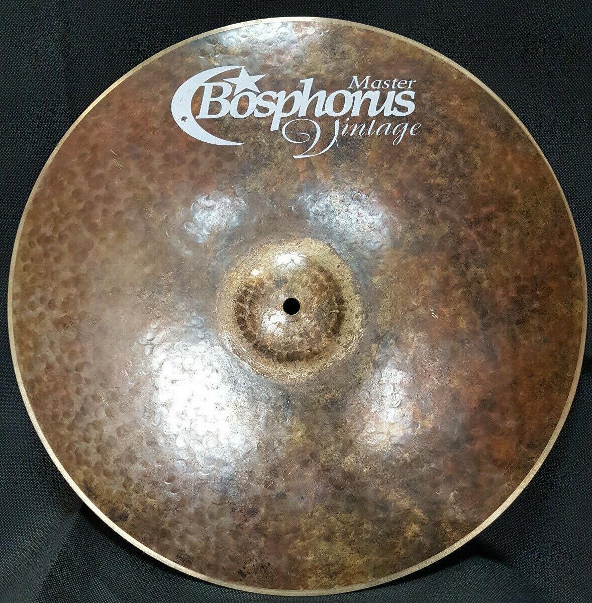 Bosphorus Master Vintage 16  Crash Ride Becken 874g Piatto Cymbal Messe 2019