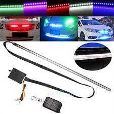 7 Color 56cm 48 LED RGB Scanner Flash Car Strobe Knight Rider Kit Light Strip