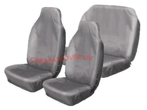 BMW serie 3-Heavy Duty Gris Impermeable cubiertas de asiento de coche-Conjunto Completo