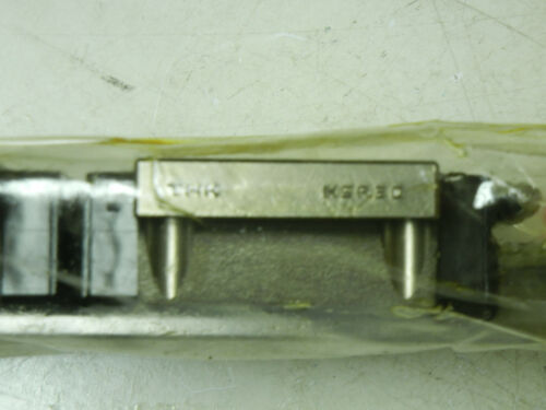 2 THK HSR20 NEW LINEAR GUIDES WITH 1 UN8129 RAIL HSR20