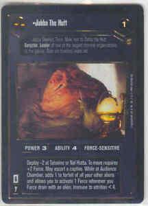 Star Wars CCG Reflections I FOIL Jabba the Hutt 1