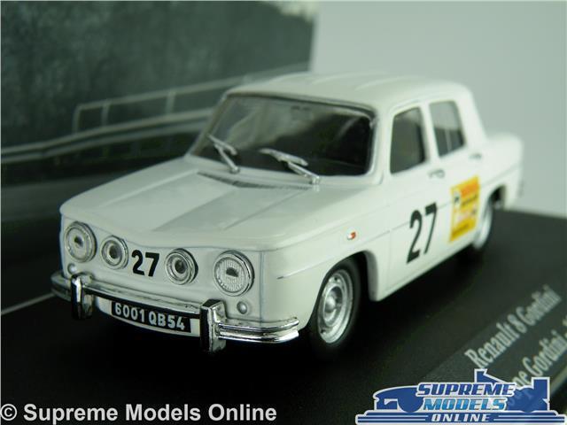 RENAULT 8 GORDINI MODEL CAR 1 43 SCALE 1968 IXO ATLAS NO27 RALLY COUPE K8