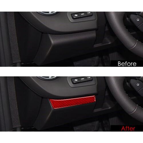 For Chevrolet Camaro 2016-2020 Carbon Fiber Interior Dashboard Panel Cover Trim