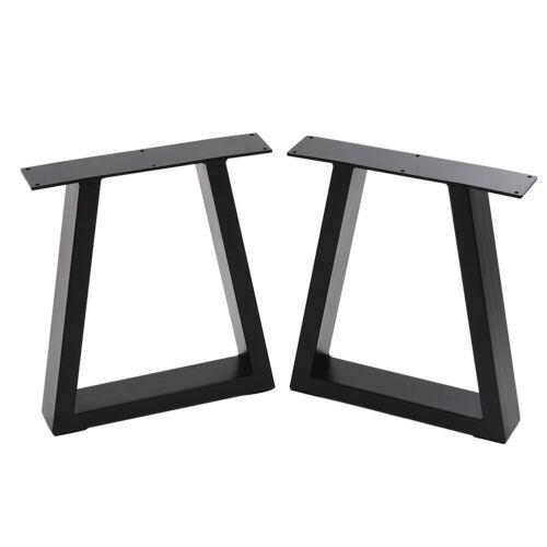 Set of 2 Industrial Metal Dinning Table//Desk//Bench Legs Sturdy Furniture Legs UK