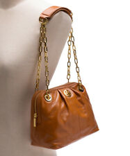 d87daf9e72d Tory Burch Dena Mini Bag Luggage Leather Chain Strap 90009507 Handbag
