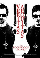 The Boondock Saints Brothers Guns 24x36 Movie Poster Flanery Norman Reedus