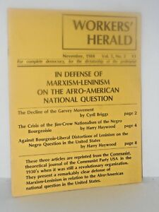 Workers-Herald-Defense-of-Marxism-Leninism-the-Afro-American-Question-Garvey
