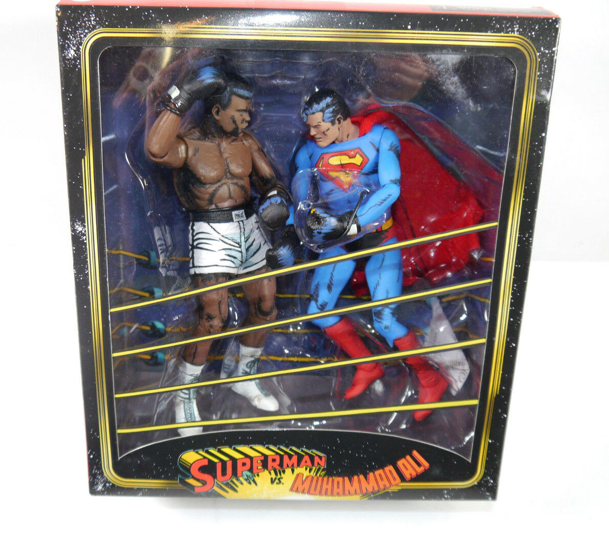 Superman Vs.Muhammad Ali Actionfigur Set Neca Nuovo (L) (L) (L) 39f638