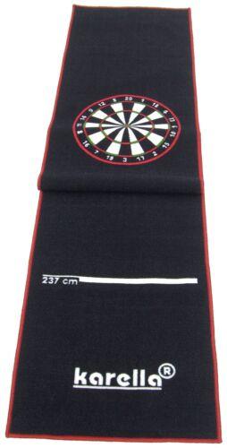 Dartmatte Karella Premium VELOUR Dartteppich Abstandsmatte Dart 290x60