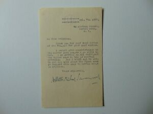 034-1st-Baron-Mancroft-034-Arthur-Samuel-Hand-Signed-TLS-Dated-1927-Todd-Mueller-COA