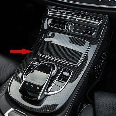 Carbon fiber Center Console Dashboard Cover For Mercedes Benz E Class W213 16-19
