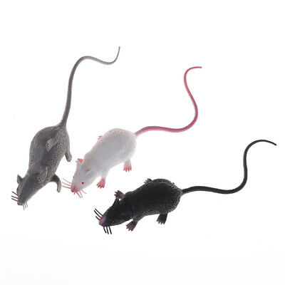 Fake Lifelike Mouse Model Prop Halloween Gift Toy Party Decor for Kids Funny