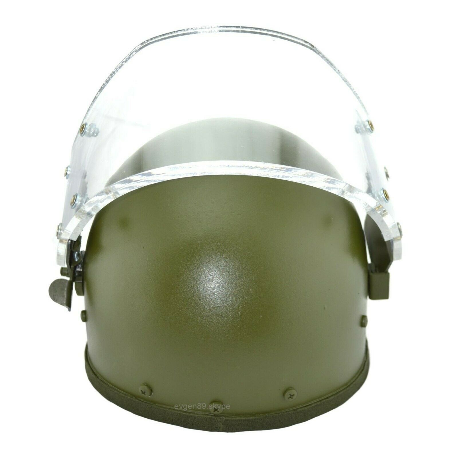 ZSH 1-2M Russian Helmet Replica with Vizor Olive Gearcraft for SOBR FSB