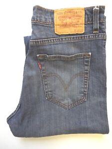 Levis-752-Jeans-Herren-Regular-Straight-Leg-W32-L30-mittelblau-Strauss-levj-411