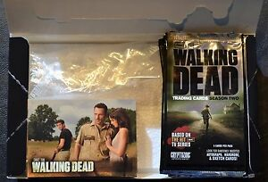 Cryptozoic-Walking-Dead-Season-2-Complete-Base-Set-Box-Wrappers-Trading-Cards