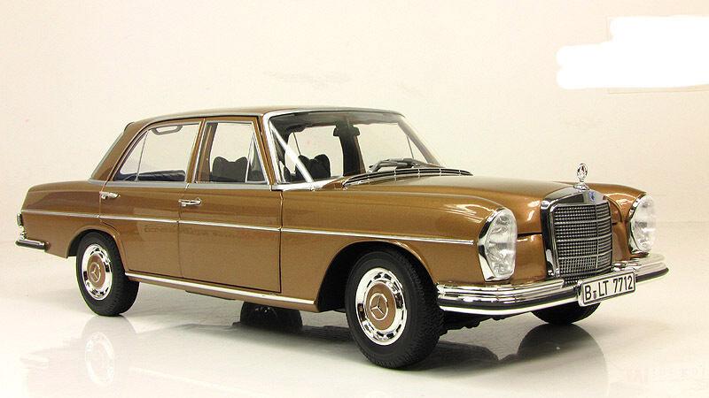 centro comercial de moda Limusina Mercedes Benz Clase S 280 se W108 W108 W108 Color oro 1968 Norev 1 18 183531  colores increíbles