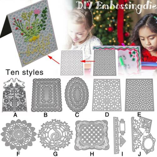 Carbon Steel DIY Embossing Cutting Dies Stencil Cutout Pattern Card Album Art