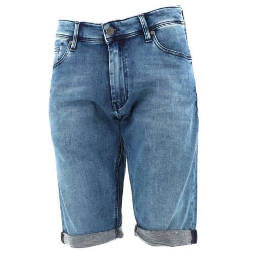 Neuf Short bermuda Teddy smith Scotty 3 indigo lt short Bleu 18135