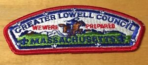 Details about BOY SCOUTS GREATER LOWELL COUNCIL MASSACHUSETTS COUNCIL  SHOULDER PATCH NEW