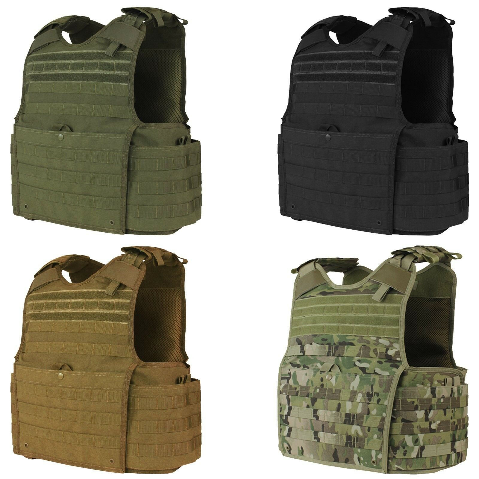 Condor  201147 Tactical Releasable MOLLE PALS BALCS SPEAR Enforcer Plate Carrier  save on clearance