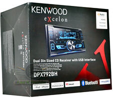 Kenwood DPX792BH Double Din In-Dash CD/MP3/ Built-in Bluetooth/Pandora/HD Radio