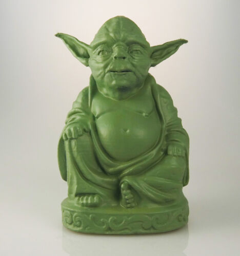 Mint Green Zen Yoda Buddha Statue Star Wars