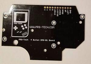 Gameboy-DMG-01-4-button-PCB-DIY-Pi-Zero