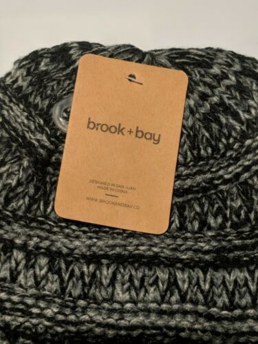 Toddler Winter Hats Black Grey Kids Cable Knit Beanie For Girls /& Boys